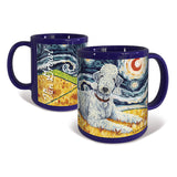 Bedlington Terrier Starry Night Mug