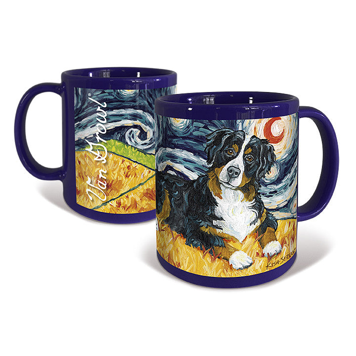 Bernese Mountain Dog Starry Night Mug