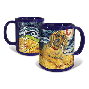 Bloodhound Starry Night Mug