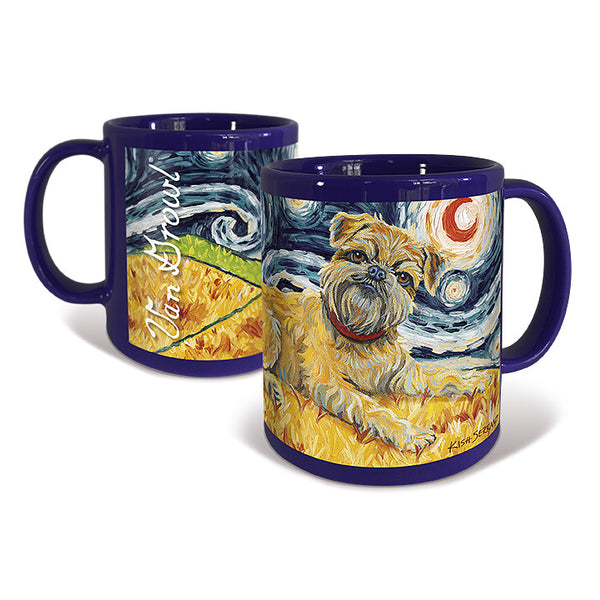 Brussels Griffon Starry Night Mug