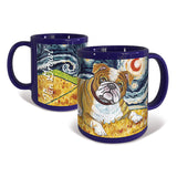 Bulldog Starry Night Mug