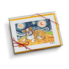 Bulldog Starry Night Notecard Set