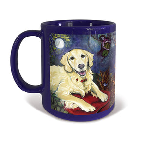Golden Retriever Cream Chagrowl Mug