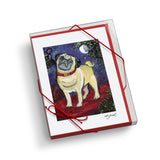 Pug Chagrowl Notecard Set