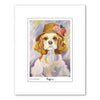 Cocker Spaniel Ruffoir Matted Print