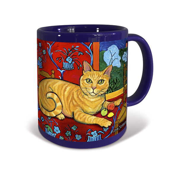 Shorthaired Orange Tabby Catisse Mug