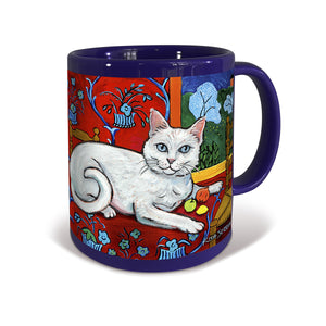 Shorthaired White Catisse Mug