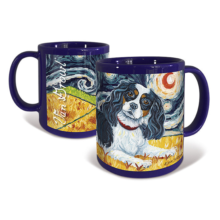 Cavalier King Charles Tri-Color Starry Night Mug