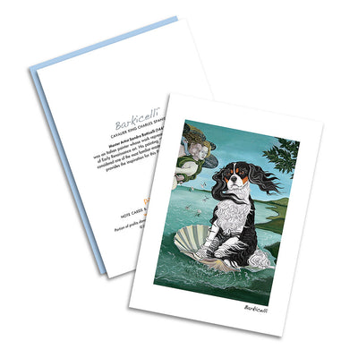 Cavalier King Charles Barkicelli Notecard Set
