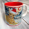 Chihuahua Holiday Starry Night Mug