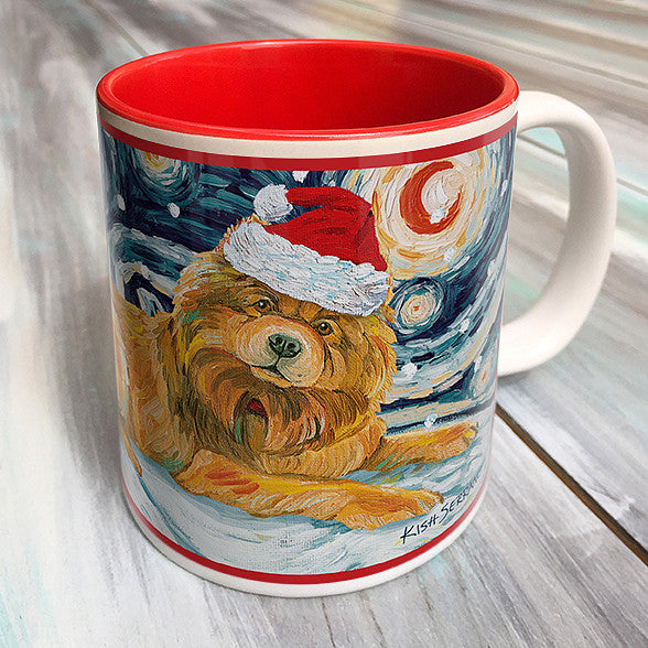 Chow Tan Holiday Starry Night Mug