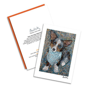 Corgi Cardigan Pawlick Notecard Set