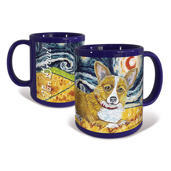 Corgi Pembroke Welsh Starry Night Mug