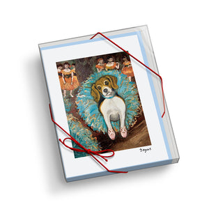 Beagle Dogas Notecard Set
