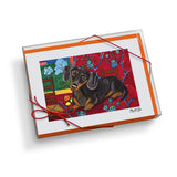 Dachshund Muttisse Notecard Set