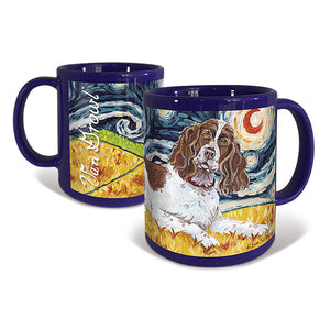 English Springer Spaniel Starry Night Mug