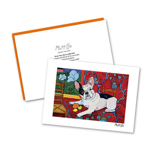 French Bulldog Muttisse Notecard Set