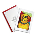 Golden Retriever Pawcasso Notecard Set