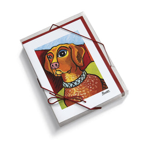 German Shorthair Pointer Pawcasso Notecard Set
