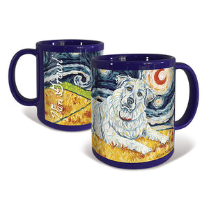 Great Pyrenees Starry Night Mug