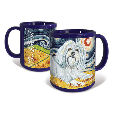Havanese Starry Night Mug