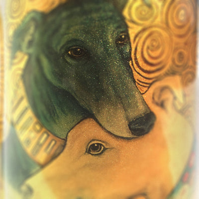 Greyhound Kiss Mug