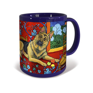 German Shepherd Muttisse Mug