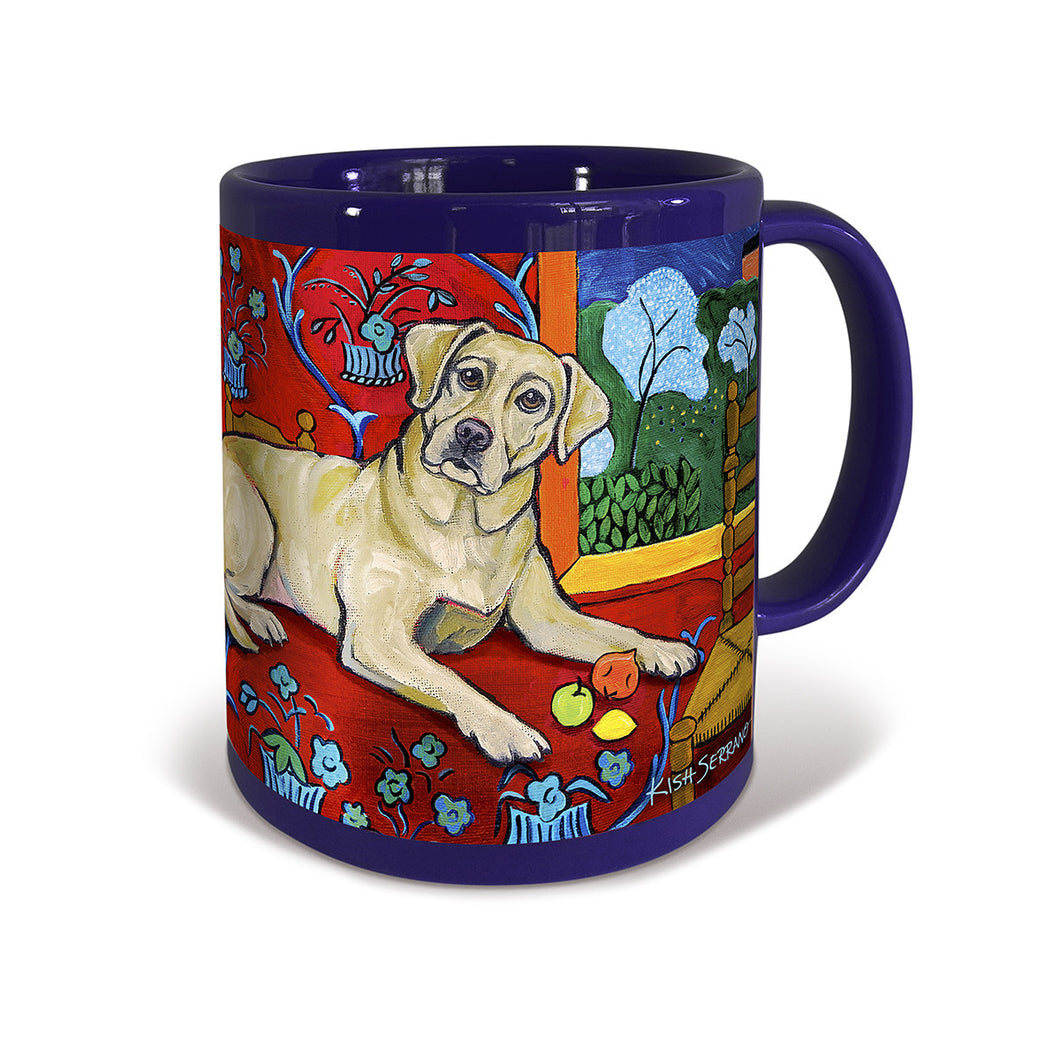 Labrador Retriever Yellow Muttisse Mug