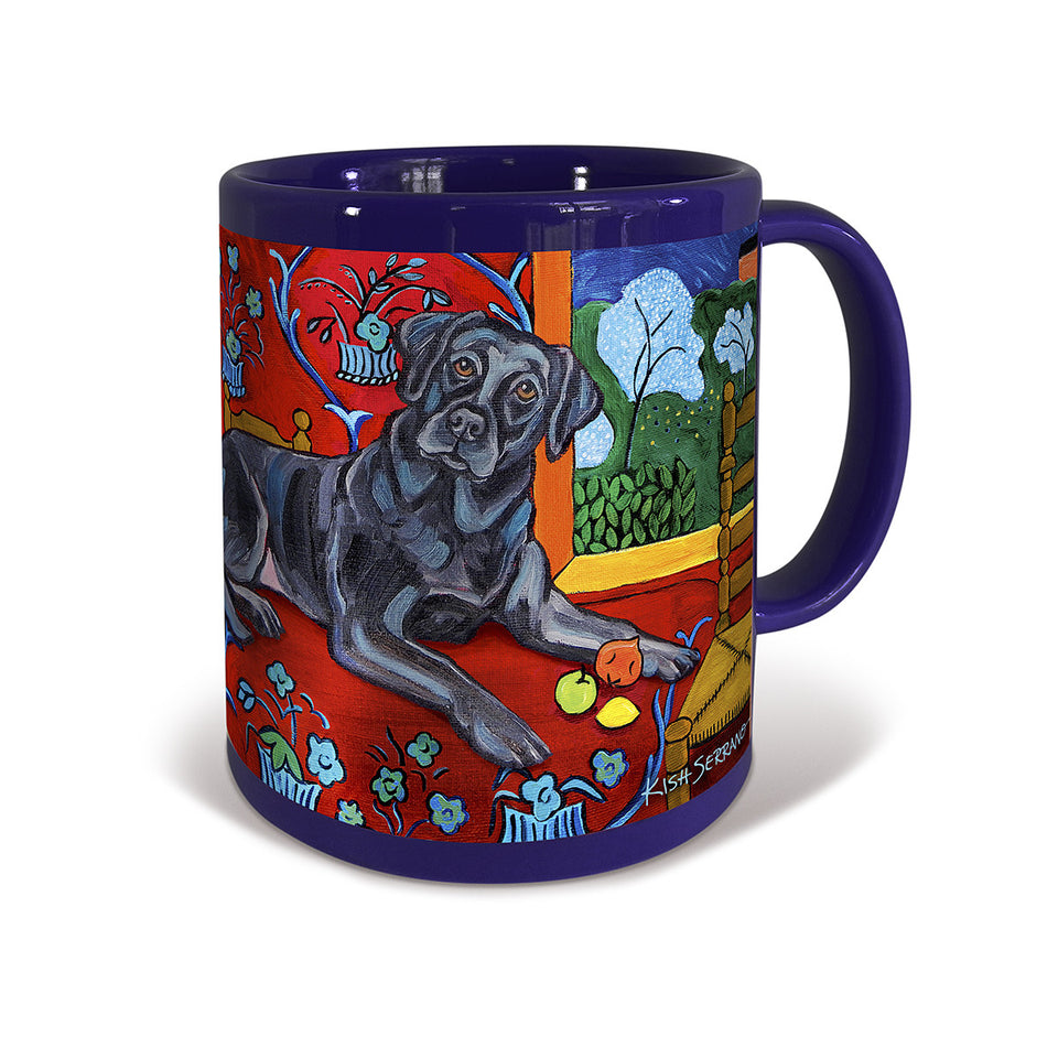 Labrador Retriever Black Muttisse Mug