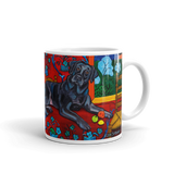 BUILD YOUR OWN ART COLLECTION — BLACK LABRADOR MUGS