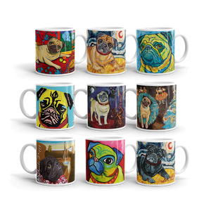 Build Your Own PUG ART Collection— 11oz MUGS