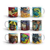 PUG ART 11oz MUG collection