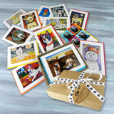 BARK COLLECTION of note cards