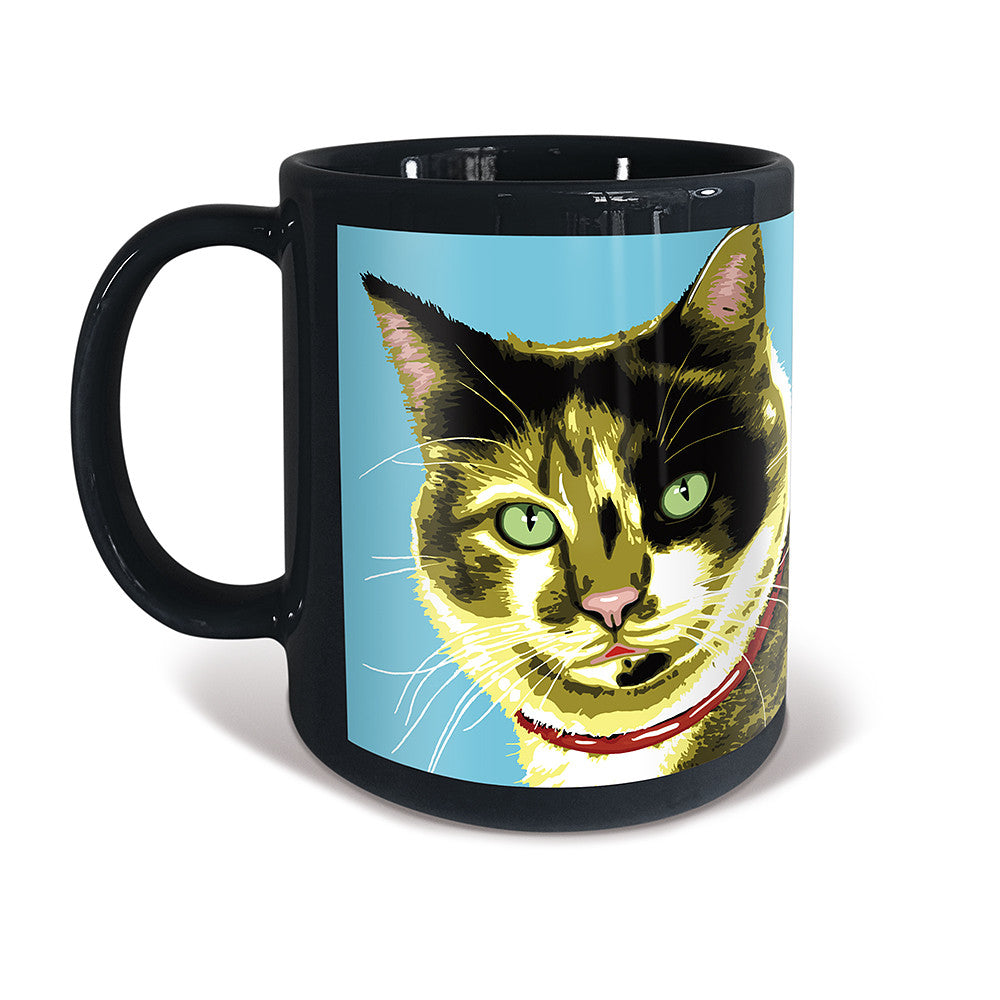 Calico Shorthaired Cat Purrhol Mug