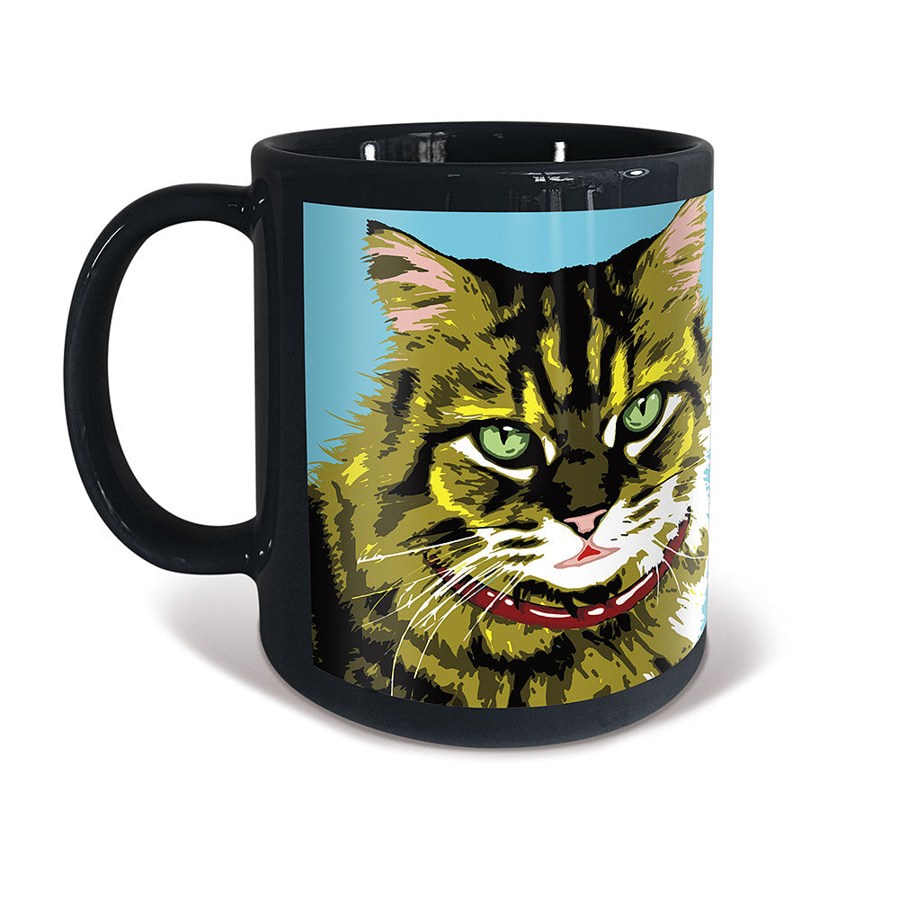 Tabby Longhaired Cat Purrhol Mug