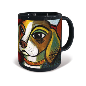 Beagle Pawcasso Mug