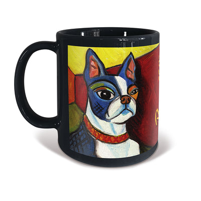 Boston Terrier Pawcasso Mug