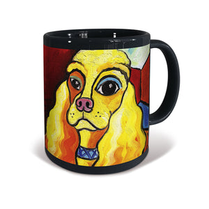 Cocker Spaniel Pawcasso Mug