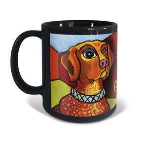 German Shorthair Pointer Pawcasso Mug