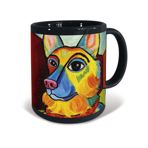 German Shepherd Pawcasso Mug