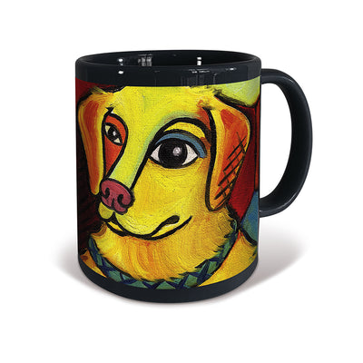 Golden Retriever Pawcasso Mug