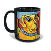 Labrador Yellow Pawcasso Mug