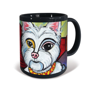 West Highland Terrier Pawcasso Mug