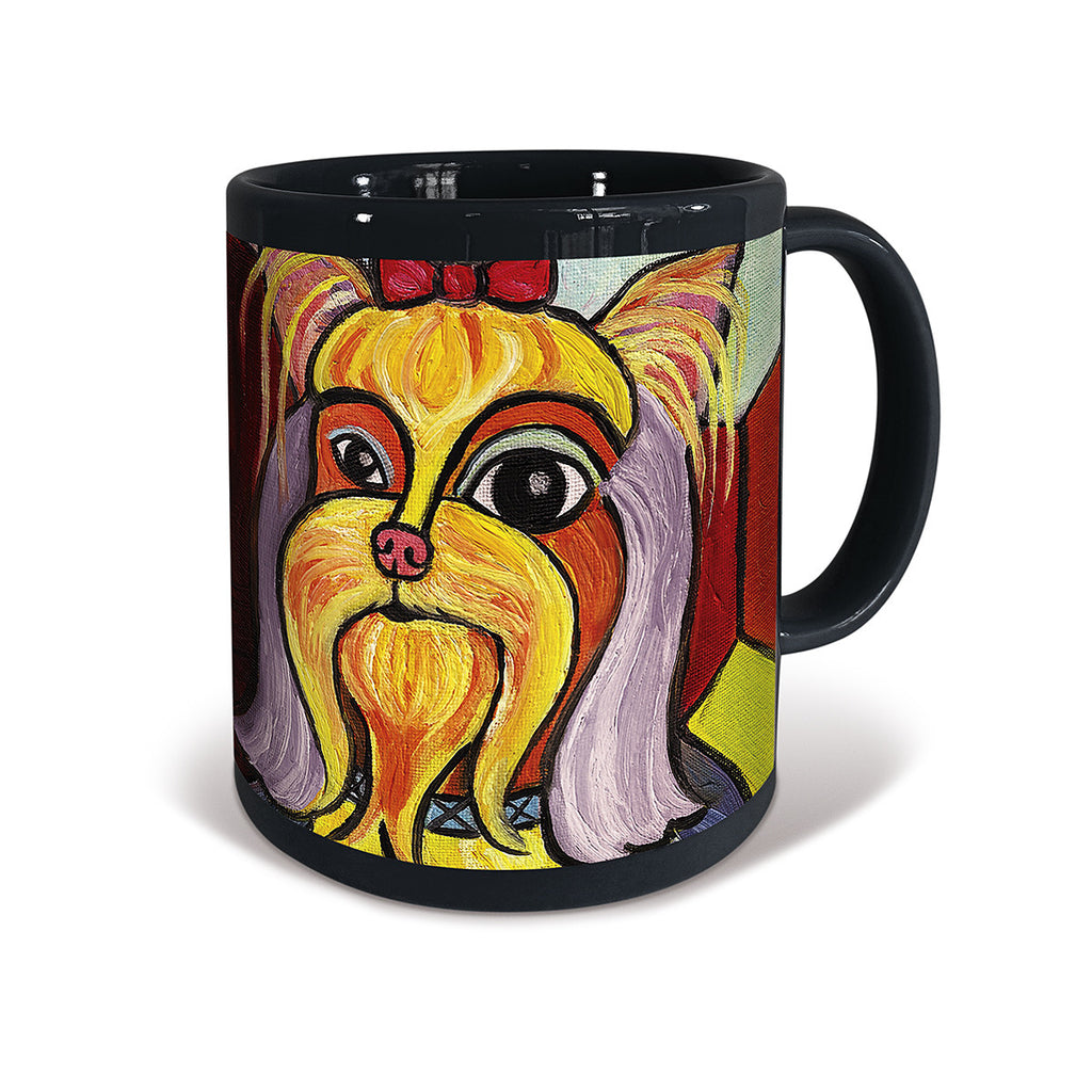 Yorkshire Terrier Pawcasso Mug