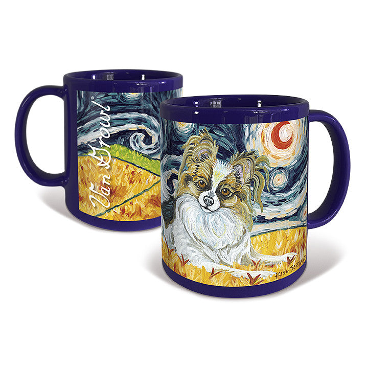Papillon Starry Night Mug
