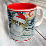 Papillon Holiday Starry Night Mug
