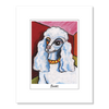 Poodle Pawcasso Matted Print