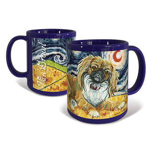 Pekingese Starry Night Mug