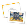 Scottish Terrier Starry Night Notecard Set