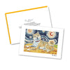 Shiba Inu Fawn Starry Night Notecard Set